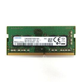 8GB Samsung サムスン純正 ノートPC用 DDR4-2400 PC4-19200 260Pin SODIMM non-ECC 1.2V バルク M471A1K43CB1-CRC ◆メ