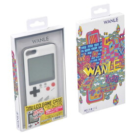【Phone7/8 ケース】 実際に遊べるレトロゲームが多数収録されたiPhoneケース LCDゲームケース 白 Libra LBR-LCD8WH ◆メ
