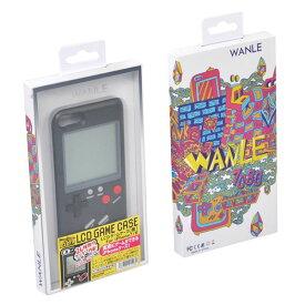 【Phone7/8 ケース】 実際に遊べるレトロゲームが多数収録されたiPhoneケース LCDゲームケース 黒 Libra LBR-LCD8BK ◆メ