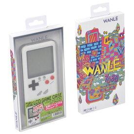 【iPhoneX ケース】実際に遊べるレトロゲームが多数収録されたiPhoneケース LCDゲームケース 白 Libra LBR-LCDXWH ◆メ