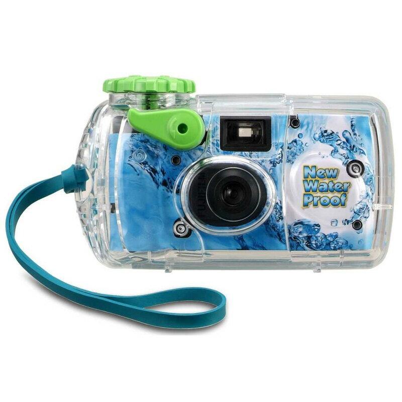 防水インスタントカメラ 水に強い写ルンです FUJIFILM フジフイルム New Waterproof 水深10m耐水 27枚撮り LF N-WP2 27SH 1 ◆宅