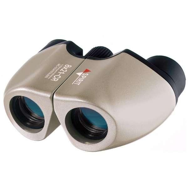 8倍双眼鏡 オペラグラス NASHICA ナシカ光学 SPIRIT 超軽量 コンパクト設計 チタンカラー 8x21CR-MC ◆宅