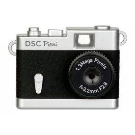 トイカメラ クラシックカメラ風 ピエニ PIENI Kenko ケンコー・トキナー 131万画素 microSDHC(4GB-16GB対応) USB充電式 ブラック DSC-PIENI-BK ◆宅