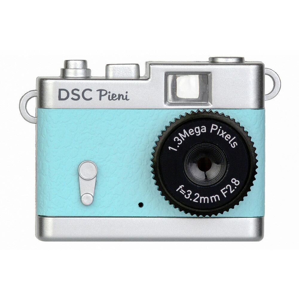 トイカメラ クラシックカメラ風 ピエニ PIENI Kenko ケンコー・トキナー 131万画素 microSDHC(4GB-16GB対応) USB充電式 スカイブルー DSC-PIENI-SB ◆宅