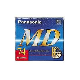 MDディスク ミニディスク 録音用 74分 Panasonic パナソニック 高耐衝撃設計 AY-MD74D ◆メ