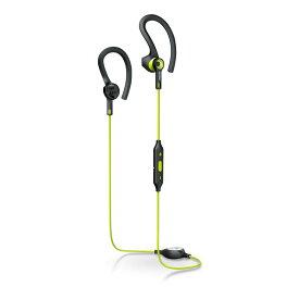 ワイヤレスイヤホン Bluetooth 防滴/スポーツ対応 PHILIPS フィリップス マイク付 耳掛け型 ライム SHQ7900CL ◆宅