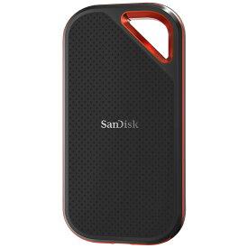 2TB 外付SSD ポータブルSSD USB3.1 Gen2 SanDisk サンディスク Extreme Pro R:1050MB/s 防滴 耐振 耐衝撃 USB-A/C両対応 海外リテール SDSSDE80-2T00-G25 ◆宅