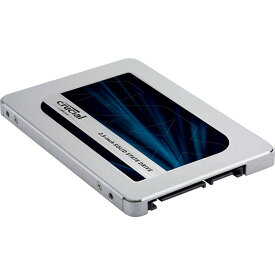 2TB SSD 内蔵型 Crucial クルーシャル MX500 3D TLC 2.5インチ 7mm厚 SATA3 6Gb/s R:555MB/s W:515MB/s 2.0TB 海外リテール CT2000MX500SSD1 ◆宅