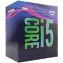 どれでも3点以上購入でポイント10倍(4/1のみ 要エントリー) CPU Core i5-9600K BOX LGA1151 Intel インテル 第9世代 Coffee Lake-S 3.7GHz 6コア/6スレッド BX80684I59600K ◆宅