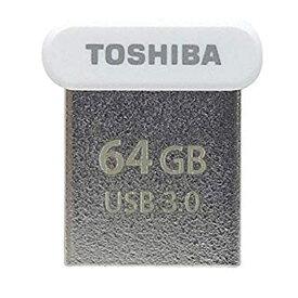 64GB USBメモリー USB3.0 TOSHIBA 東芝 TransMemory U364 R:120MB/s 超小型サイズ 海外リテール THN-U364W0640A4 ◆メ