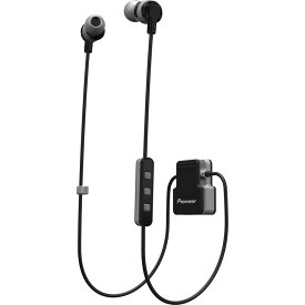 ワイヤレススポーツイヤホン Bluetooth 密閉型 Pioneer パイオニア 連続再生時間8h 防水保護等級IPX4 クリップタイプ グレー SE-CL5BT(H) ◆メ
