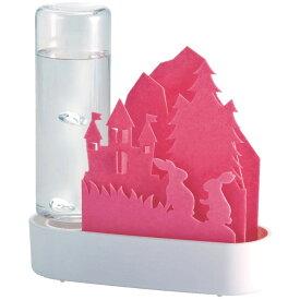 自然気化式ECO加湿器 うるおいちいさな森 セキスイ 積水樹脂 ペーパー加湿器 電気代0円 ウサギ ピンク ULT-US-PK ◆宅