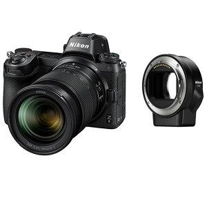 ミラーレス一眼カメラフルサイズZ624-70+FTZマウントアダプターキットNikonニコン2450万画素キャッシュバック対象品(2020/03/31迄)Z6LK24-70FTZKIT◆宅