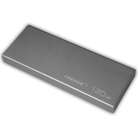 120GB 外付けSSD ポータブルSSD USB3.0 HI-DISC ハイディスク コンパクトサイズ R:400MB/s W:300MB/s HDEXSSD120GPM10TD ◆メ