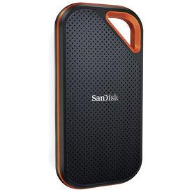 1TB 外付SSD ポータブルSSD USB3.2 Gen2x2 SanDisk サンディスク Extreme Pro R/W:2000MB/s 防滴 耐振 耐衝撃 USB-A/C両対応 海外リテール SDSSDE81-1T00-G25 ◆宅
