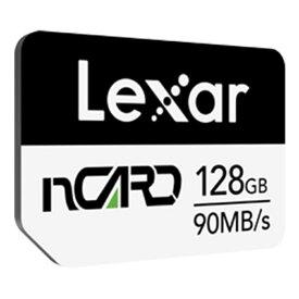 128GB NM Card ナノメモリーカード nCARD for Huawei レキサー R:90MB/s W:70MB/s 海外リテール LNCARD128G-BNNNG ◆メ