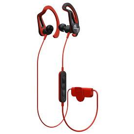 Bluetoothイヤホン ワイヤレススポーツイヤホン Pioneer パイオニア 連続再生時間7.5h 防滴仕様 耳かけカナル型 レッド SE-E7BT(R) ◆宅