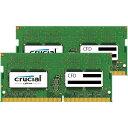 8GB 2枚組 DDR4 ノート用メモリ CFD Crucial by Micron DDR4-2400 PC4-19200 260pin SO-DIMM 8GBx2(計16GB) W4N2400CM…