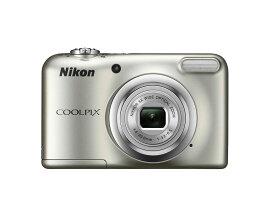 コンパクトデジタルカメラ COOLPIX A10 Nikon ニコン 1614万画素 光学5倍ズーム 単3形電池式 シルバー COOLPIXA10SL ◆宅