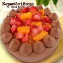 風見鶏チョコレートデコレーションケーキ ケーキ 冷凍 オシャレ ギフト プレゼント おいしい お礼 お祝い 誕生日ケーキ スイーツ 洋菓子