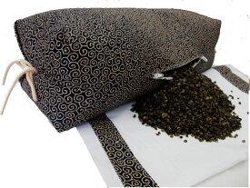 そばがら枕 50X21X15cm(64x32cm)硬い枕 高さの高い枕そば殻の出し入れも簡単!Wファスナー付き坊主枕薬品未使用・厳選国産そば殻使用枕カバー/綿100%/全て日本製 送料無料(沖縄・北海道へのお届けは送料が掛かります。)