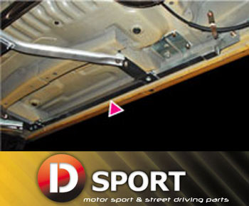 【 コペン L880K 用 】 D-SPORT (Dスポーツ) サイドシル補強バー 品番:57400-B080