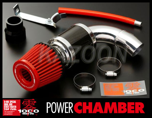 【 ジムニー ABA-JB23W /K6A (ターボ) 4,5,6,7型専用 】 トップフューエル 零1000 パワーチャンバー ( スーパーレッド / 品番:106-KS005 ) TOP FUEL ZERO-1000 POWER CHAMBER