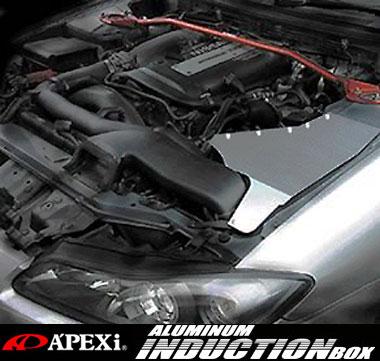 【 ランサーエボリューション Evo.5 Evo.6 CP9A / 4G63 用 】 アペックス アルミインダクションボックス ( 品番:517-M001 ) APEX ALUMINUM INDUCTION BOX