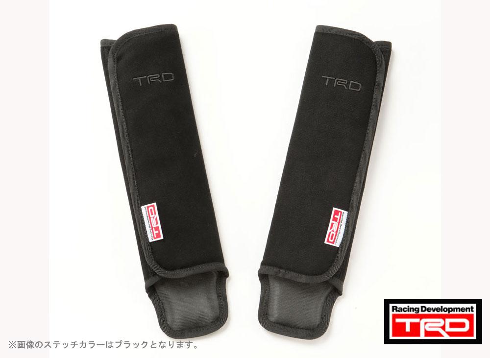 【 TOYOTA 86 (ハチロク) DBA-ZN6 / FA20用 】 TRD ショルダーパットセット ( レッドステッチ ) 品番: MS010-00013 TRD PERFORMANCE PARTS