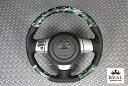 【 FJクルーザー GSJ15W (北米&国内仕様装着可)用 】 レアル ステアリング オリジナルシリーズ (グリーン迷彩 / IKURA モデル) 品番: F...
