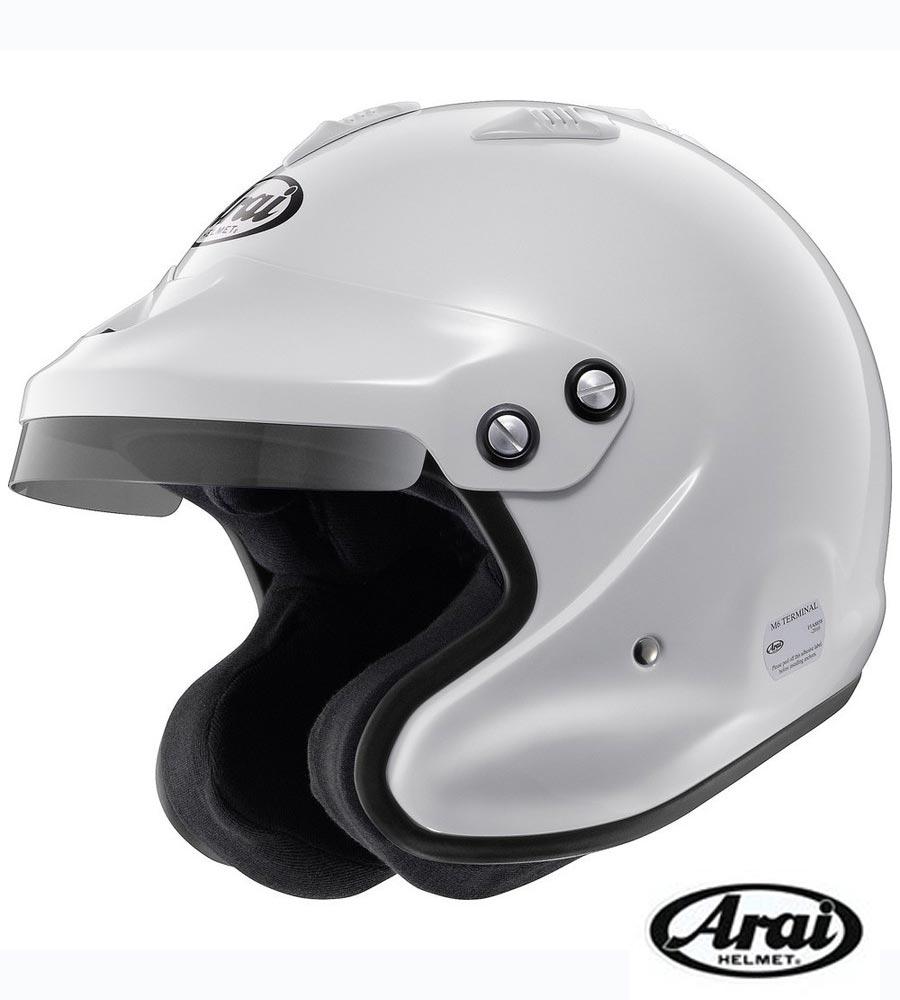 【 サイズ L / カラー 白 】 アライ ヘルメット GP-J3 8859 四輪車ラリー用 FIA8859規格ヘルメット (Arai HELMET)