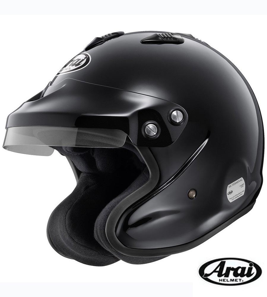 【 サイズ XL / カラー 黒 】 アライ ヘルメット GP-J3 8859 四輪車ラリー用 FIA8859規格ヘルメット (Arai HELMET)