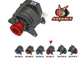【 〜1996年 ローバー ミニ 1300cc エアコン付き車用 】 アドバンス ブラック オルタネーター 品番: BA-96L-R (ROVER MINI ADVANCE BLACK ALTERNATOR) ※送料無料 (沖縄県および離島は除く)