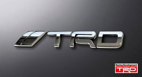 ☆TRD エンブレム『Logo-type』 品番:MS010-00002 (TRD正規品グッズ・小物 )