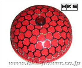 HKS スーパーパワーフロー交換用フィルター 【 Φ200用 レッド 70001-AK032 】 HKS SUPER POWER FLOW SPARE FILTER