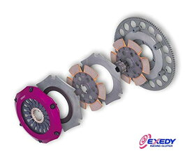 【 ランサー EVO VII, VIII, IX (エボ7〜9) CT9A / 4G63用 】 EXEDY RACING CLUTCH ( COMPE-R TWIN ) 製品番号: MM022SBL エクセディー レーシング クラッチ コンペR ツイン
