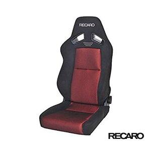 RECARO SR-7F GK100 (セミバケット スポーツシート) カムイ×グラスメッシュ生地 ブラック×レッド 品番: 81-093.20.984-0 (レカロ正規品)