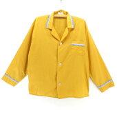 60sビンテージ長袖パジャマシャツ★★★60's1960年代アメリカ古着アメカジ古着メンズ古着中古ユーズドXLサイズLサイズ大きいサイズヴィンテージシャツ長袖シャツサイケ