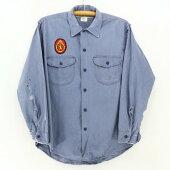 60sLeeビンテージ長袖ワークシャツ★★★60's1960年代アメリカ古着アメカジ古着メンズ古着中古ユーズドXLサイズLサイズ大きいサイズヴィンテージシャツUSA製アメリカ製リーBORO