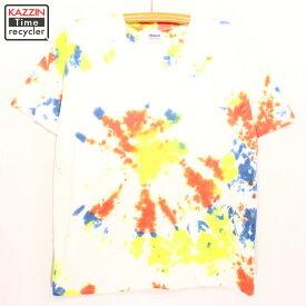 2000s GILDAN タイダイTシャツ 古着 ★ Lサイズ