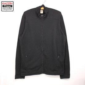 2011年製 Patagonia キャプリーン4 フルジップ ソフトシャルジャケット 43630F11 古着 ★ Lサイズ ブラック