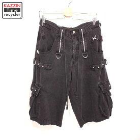 OLD TRIPP NYC ショートパンツ パンク 古着 ★ Sサイズ W31 ブラック