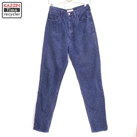 90s USA製 GUESS デニムパンツ 古着 ★ XSサイズ W29 ネイビー