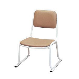 本堂用お詣り椅子 SH-300 (座高30cm) スチールパイプ製 ( 本堂用椅子 寺院用椅子 寺用 本堂椅子 スツール イス スタッキング 寺院仏具 送料無料 )