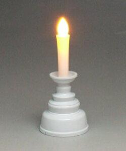 【ポイント5倍&クーポン】 神棚・神具 『安心のろうそく(白) ミニ』【k I-12-414】【ローソク ろーそく 電池式】(安全 ロウソク 蝋燭 神殿 神道 リビング 和ロウソク 和ろうそく 和蝋燭 お参