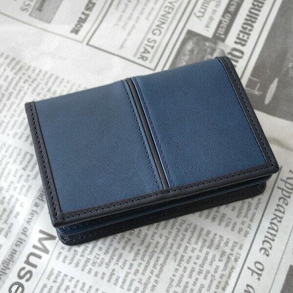 ユニゾンデプト AI(藍) サード 本革 藍染 カードケース メンズ 名刺入れ 革 日本製 大容量 UNISON DEPT. 牛革 レザー 大きめ レディース 日本製 送料無料 12-9003 通販 【2016年新型】