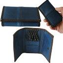 ユニゾンデプト AI(藍) キーケース 藍染 牛革 ヌメ革 本革 レザー 5連キーホルダー キイケース 鍵入れ ジャパンブルー…