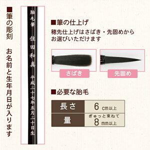 赤ちゃん筆【送料無料】桜(胎毛筆・誕生記念筆)