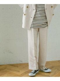 [Rakuten Fashion]【SALE/50%OFF】ヘリンボンストレートパンツ KBF ケービーエフ パンツ/ジーンズ パンツその他 ホワイト パープル ブラウン【RBA_E】【送料無料】