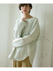 [Rakuten Fashion]BIGBIGボーダーTシャツ KBF ケービーエフ カットソー Tシャツ グリーン ブルー オレンジ【送料無料】